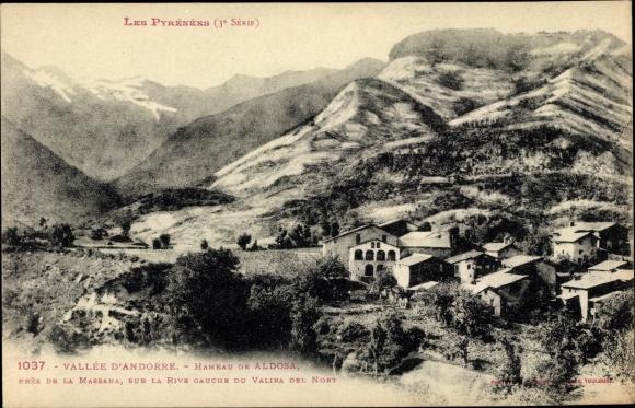 Ak Andorra la Vella Andorra, Hameau de Aldosa pres de la Massana