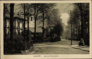 Ak Hamburg Eimsbüttel Lokstedt, Bei der Friedenseiche, Straßenpartie