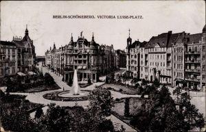 Ak Berlin Schöneberg, Blick auf den Victoria Luise Platz