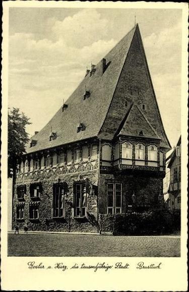 10 alte Ak Goslar und Umgebung in Niedersachsen, diverse Ansichten