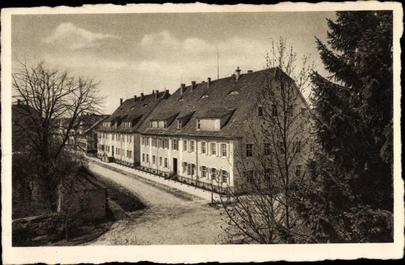 Ak Königsfeld im Schwarzwald Baar Kreis, Blick auf das Töchterheim und Schwesternhaus