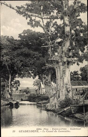 Ak Guadeloupe, Le Canal du Lamentin