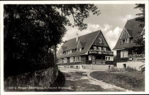 Ak Wüstenrot in Baden Württemberg, Café und Pension Schöllmann