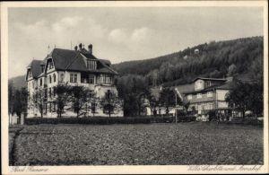 Ak Duszniki Zdrój Bad Reinerz Schlesien, Villa Charlotte und Annahof