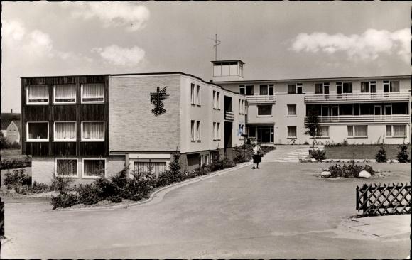 Ak Bünde im Kreis Herford, Evangelisches Alters- und Pflegeheim Jacobi-Wehme, Nordring