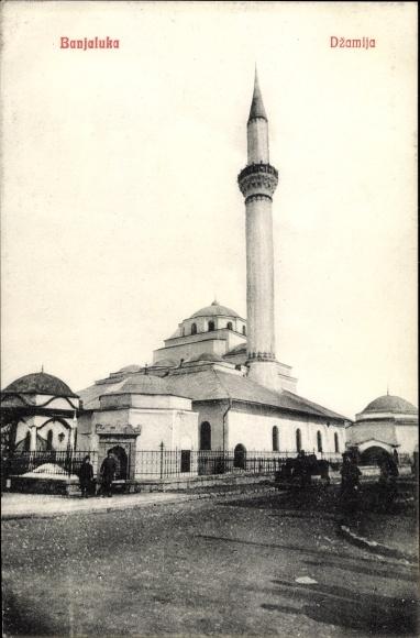 Ak Banja Luka Bosnien Herzegowina, Dzamija, Moschee, Minarett