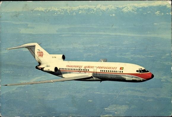 Ak Transportes Aéreos Portugueses, TAP, Boeing 727, CS-TBK, Passagierflugzeug
