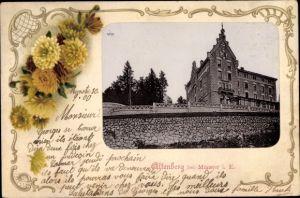 Passepartout Ak Neubois Gereuth Elsass Bas Rhin, Altenberg, Gebäude