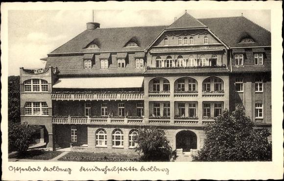 Ak Kołobrzeg Kolberg Pommern, Kinderheilstätte