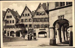 Ak Stuttgart in Baden Württemberg, Altstadt, Geißstraße