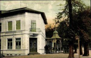 Ak Hamburg Eimsbüttel Lokstedt, M. Münster's Gasthof