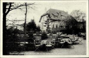 Ak Hamburg Eimsbüttel Lokstedt, Blick in das Restaurant Waldeslust, Inh. G. Keller