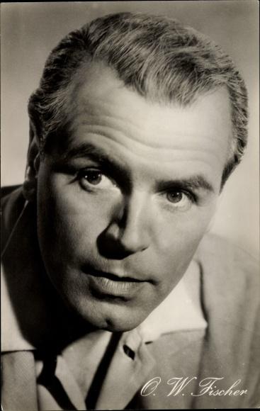 Ak Schauspieler O.W. Fischer, Portrait, Mein Vater, der Schauspieler