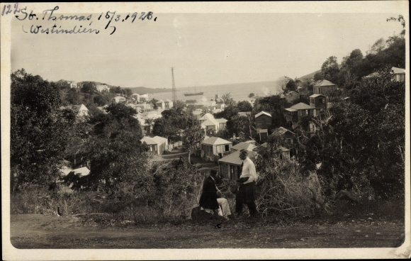 Foto Ak Indien, View of the St. Thomas Evangelical Churches