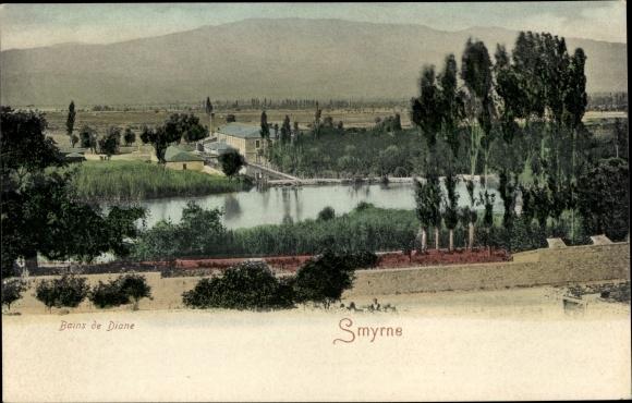 Ak Smyrna Izmir Türkei, Bains de Diane