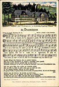 Lied Ak Günther, Anton, Erzgebirgische Mundart Nr. 25, De Draakschänk, Zur Dreckschänke, Breitenbach