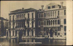 Ak Venezia Venedig Veneto, Canal Grande, Palazzo Montecuccoli
