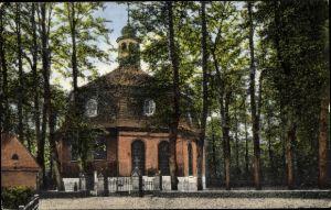 Ak Hamburg Eimsbüttel Niendorf, Blick auf die Kirche