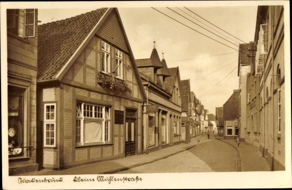 Ak Quakenbrück in Niedersachsen, Kleine Mühlenstraße