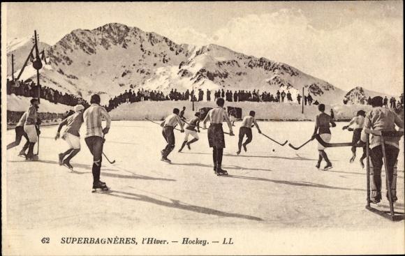 Ak Superbagnères, L'Hiver, Hockey, Eishockey, Wintersport