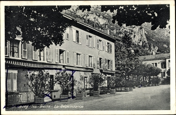Ak St. Lavey les Bains Kanton Waadt, La Dependance, Hotelgebäude