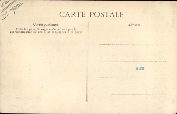 Ak Reims, 11e Grande Semaine d'Aviation de Champagne, Morane, Monoplan Blériot 1