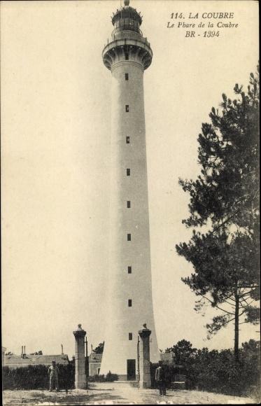 Ak La Coubre Charente Maritime, Le Phare de la Coubre, Leuchtturm