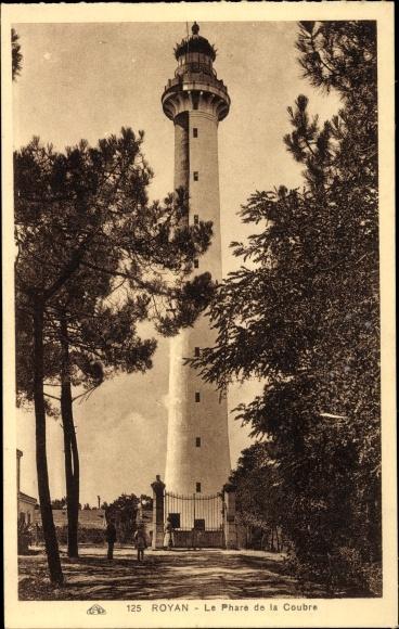Ak Royan Charente Maritime, Vue depuis le Phare de la Coubre