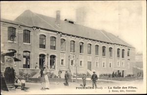 Ak Fourmies Trieux Nord, La Salle des Fêtes, Festsaal