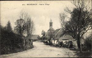 Ak Michelbach Elsass Haut Rhin, Vue du village
