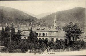 Ak Moosch Elsaß Elsass Haut Rhin, Vue générale, Totalansicht