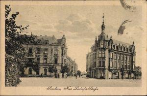 Ak Saarlouis im Saarland, Neue Lisdorfer Straße, Restaurant Kaiserhof, Geschäftshaus Zimmermann