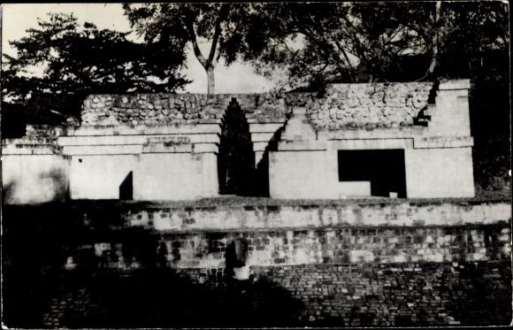 Ak Antigua Copan Honduras, Templo este del Juego de Pelota