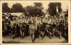 Ak Sélestat Schlettstadt Elsass Bas Rhin, Fêtes du Tricentenaire Français 1934 Regiment d'Infanterie