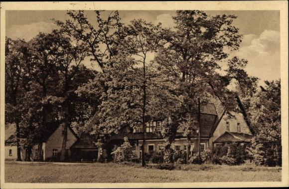 Ak Hesepe Bramsche in Niedersachsen, Sommerfrische Waldesruhe, Bes. Ww. August Beckmann