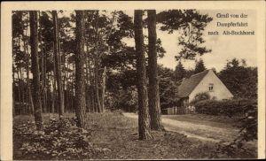 Ak Alt Buchhorst Grünheide in der Mark, Haus am Waldrand, Dampferfahrt