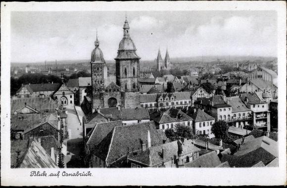 Ak Osnabrück in Niedersachsen, Blick auf Osnabrück