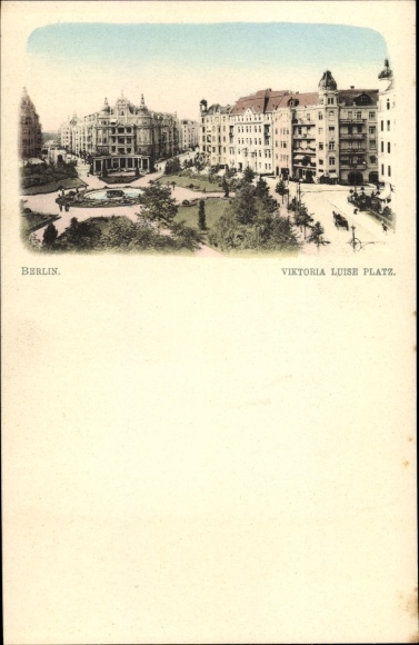 Ak Berlin Schöneberg, Blick auf den Viktoria Luise Platz 0