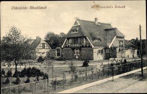 Ak Hamburg Wandsbek Rahlstedt Oldenfelde Altrahlstedt, W. Birrencoven's Wohnsitz