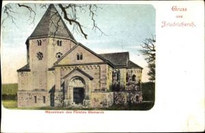 Ak Friedrichsruh Aumühle in Schleswig Holstein, Mausoleum des Fürsten Bismarck