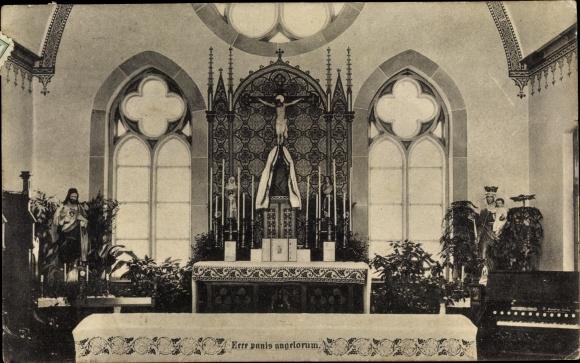 Ak Münster in Westfalen, Kapelle des Exerzitienhaus, Orgel