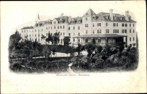 Ak Hamilton Bermuda, Hamilton Hotel, Exterior view