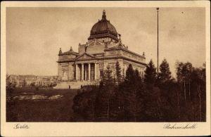 Ak Görlitz in der Lausitz, Ruhmeshalle, Panorama