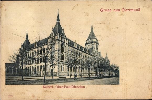Ak Dortmund im Ruhrgebiet, Kaiserliche Oberpostdirektion 0