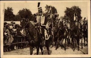 Ak Sélestat Schlettstadt Elsass Bas Rhin, Fêtes du Tricentenaire Français 1934, 30 Demi Brigade