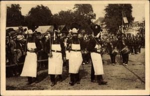 Ak Sélestat Schlettstadt Elsass Bas Rhin, Fêtes du Tricentenaire Français 1934, Régiment Infanterie