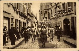Ak Sélestat Schlettstadt Elsass Bas Rhin, Fêtes du Tricentenaire Français 1934, Grancey et Chatillon