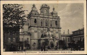 Ak Vilnius Wilna Litauen, Griechisch katholische Kirche