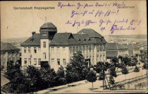 Ak Hoppegarten in Brandenburg, Blick auf das Sanatorium