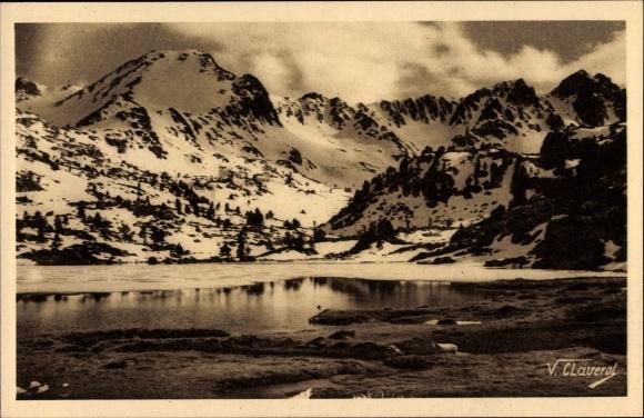 Ak Valls d'Andorra, Serra de Pessons i un dels estanga, Pyrenäen